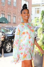 GABRIELLE UNION Arrives at Her Hotel in New York 09/13/2021