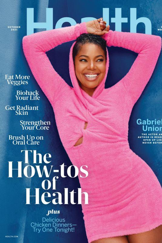 GABRIELLE UNION for Health Magazine, October 2021