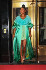 GABRIELLE UNION Leaves Her Hotel in New York 09/13/2021