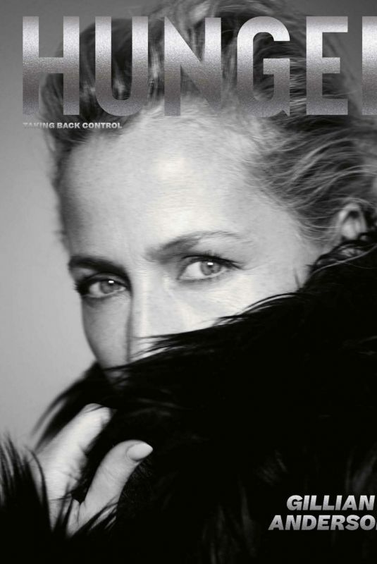 GILLIAN ANDERSON for Hunger Magazine, Taking Back Control Issue 2021