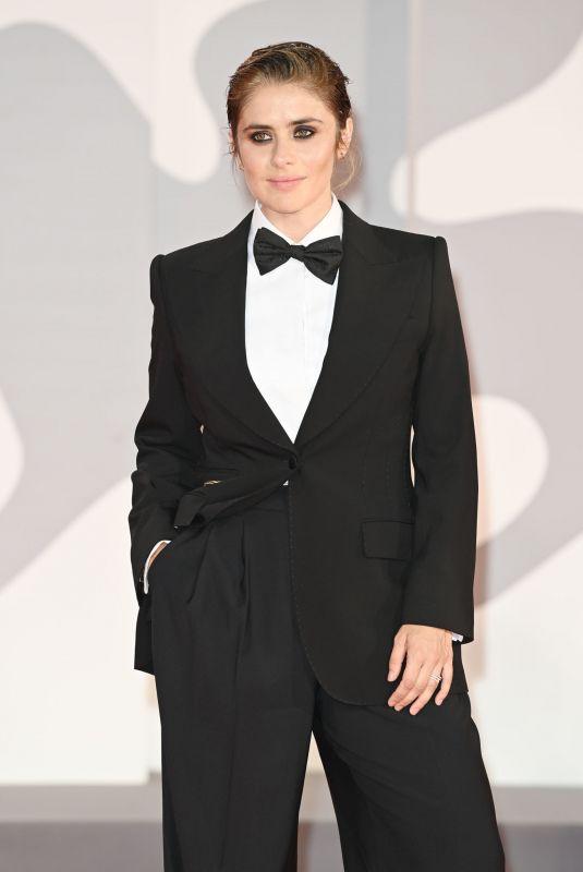 GRETA SCARANO at Filming Italy Award at 78th Venice Film Festival 09/05/2021