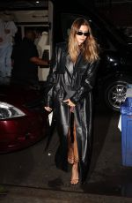 HAILEY BIEBER Out for Dinner at Carbone in New York 09/14/2021
