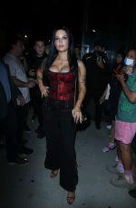 HALSEY at New York Fashion Week Event 09/08/2021
