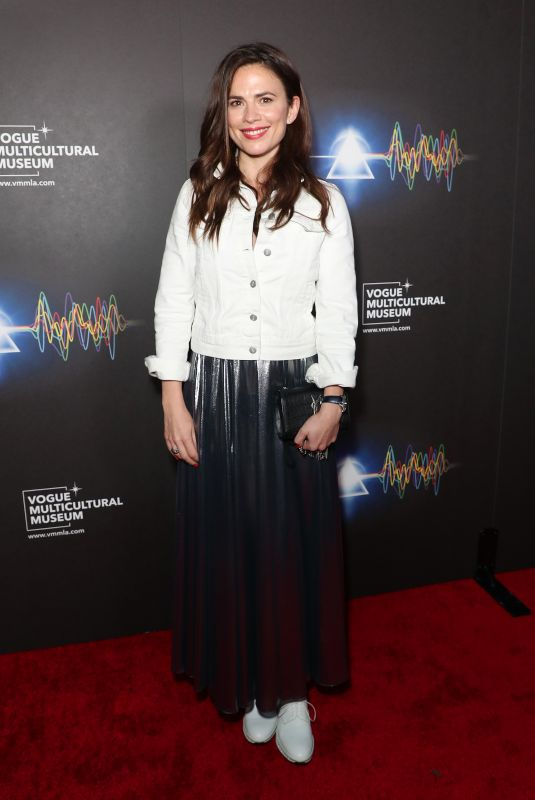 HAYLEY ATWELL at Pink Floyd Exhibition in Los Angeles 09/02/2021