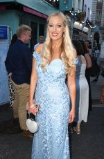 HAYLEY PALMER at Frozen Musical Press Night in London 09/08/2021