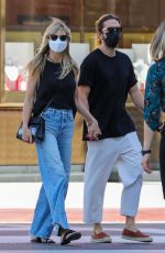 HEIDI KLUM and Tom Kaulitz Out Shopping in Beverly Hills 09/22/2021