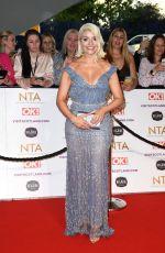 HOLLY WILLOGHBY at National Television Awards 2021 at O2 Arena in London 09/09/2021