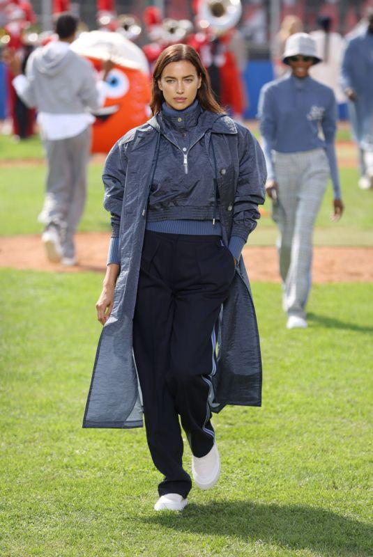 IRINA SHAYK at Boss x Russell Athletic Season 2 Fashion Show in Milan 09/23/2021