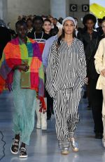 IRINA SHAYK at Max Mara Fashion Show in Milan 09/23/2021