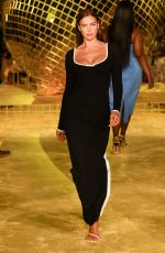 IRINA SHAYK at Staud Spring 2022 Ready to Wear Collection Runway Show in New York 09/12/2021