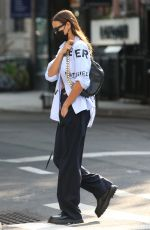 IRINA SHAYK Out and About in New York 09/13/2021