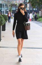 IRINA SHAYK Out at Milan Fashion Week 09/23/2021