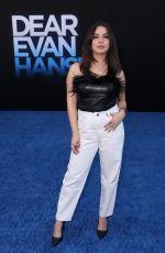 ISABELLA GOMEZ at Dear Evan Hansen Premiere in Los Angeles 09/22/2021