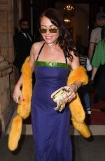 JAMIE WINSTONE at Icon Party with Grace Jones in London 09/17/2021