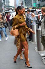 JASMINE TOOKE Arrives at Revolve Event at New York Fashion Week 09/09/2021