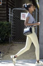 JASMINE TOOKES Arrives at Dogpound Gym in West Hollywood 09/21/2021