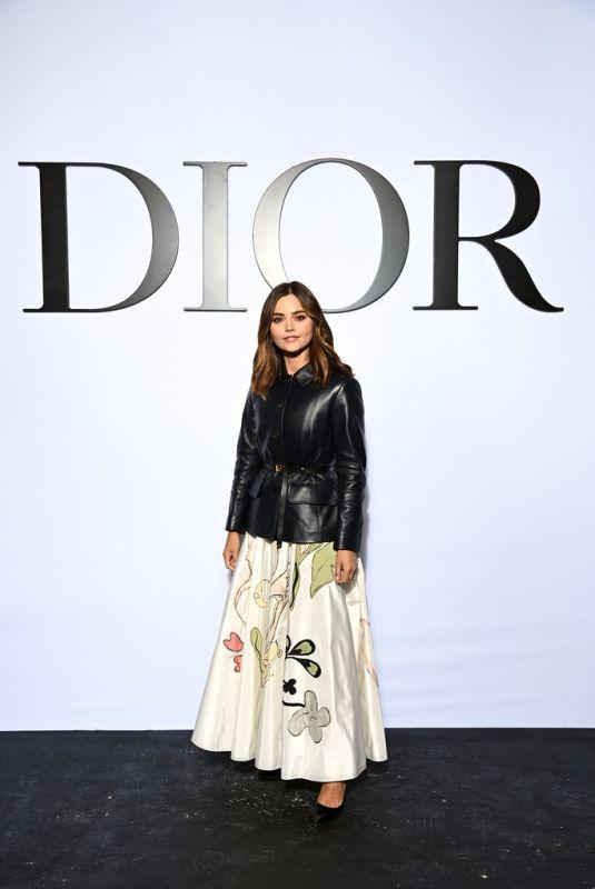 JENNA LOUISE COLEMAN at Dior Womenswear S/S 2022 Show at Paris Fashion Week 09/28/2021