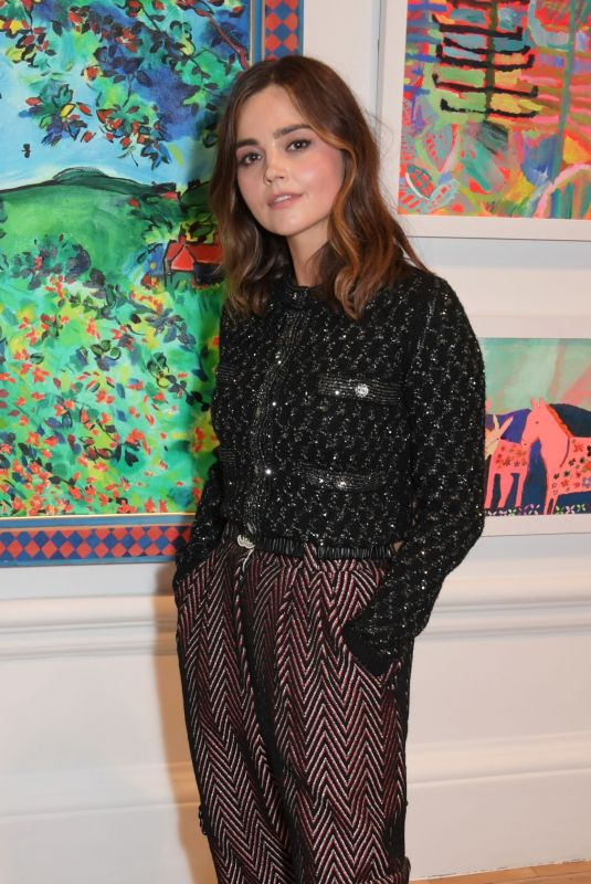 JENNA LOUISE COLMEAN at Royal Academy of Arts Summer Exhibition 2021 Preview Party in London 09/14/2021