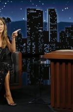 JENNIFER ANISTON at Jimmy Kimmel Live in Hollywood 09/13/2021