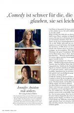 JENNIFER ANISTON in Madame Magazine, Germany October 2021