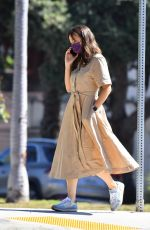 JENNIFER GARNER Out and About in Brentwood 09/21/2021