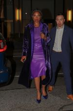 JENNIFER HUDSON Leaves Tom Ford Fashion Show in New York 09/12/2021