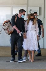 JENNIFER LOPEZ and Ben Affleck Arrives in Venice at 78th Venice Film Festival 09/09/2021
