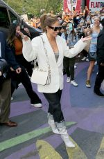 JENNIFER LOPEZ Arrives at DSW Event at Union Square in New York 09/12/2021