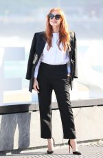 JESSICA CHASTAIN at The Eyes of Tammy Faye Photocall in San Sebastian 09/24/2021