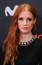JESSICA CHASTAIN at The Eyes Of Tammy Faye Premiere at San Sebastian Film Festival 09/24/2021