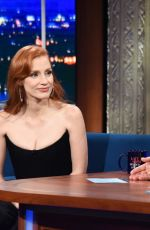 JESSICA CHASTAIN at Watch What Happens Live with Andy Cohen, Season 18 09/15/2021