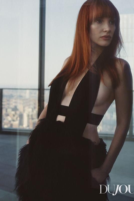 JESSICA CHASTAIN for Dujour Magazine, 2021