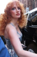 JESSICA CHASTAIN Heading to Forgiven Premiere in New York 09/14/2021