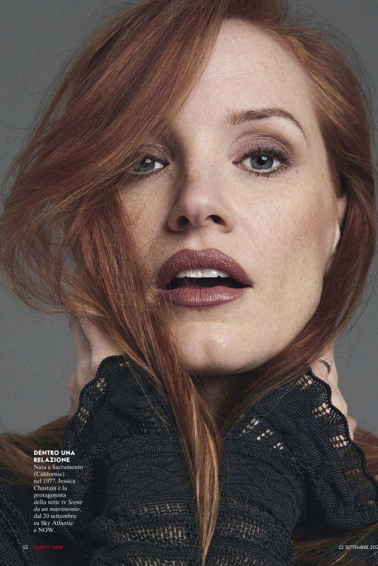 JESSICA CHASTAIN in Vanity Fair Magazine, Italy September 2021