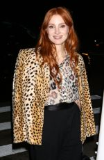 JESSICA CHASTAIN Night Out in New York 09/17/2021