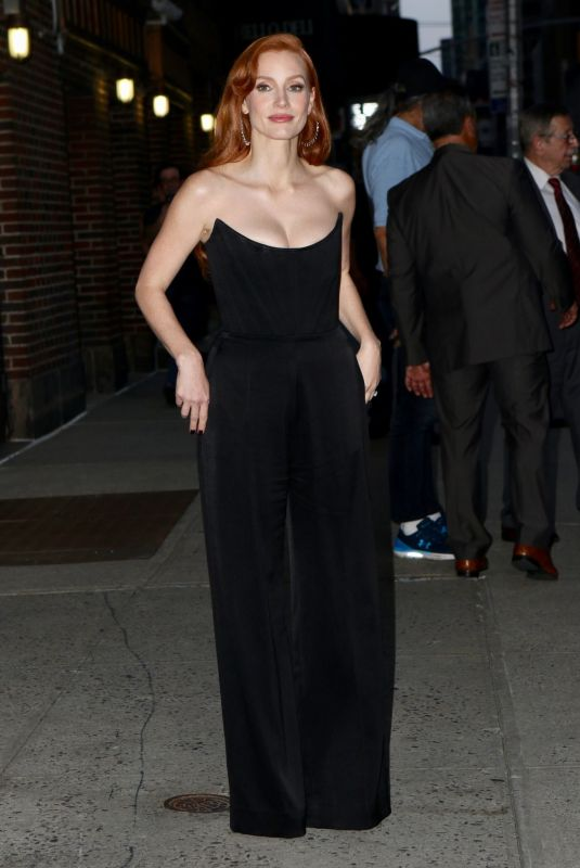 JESSICA CHASTAIN Out in New York 09/15/2021