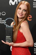 JESSICA CHASTAN Receive Silver Shell for Best Leading Performance Award in San Sebastian 09/25/2021