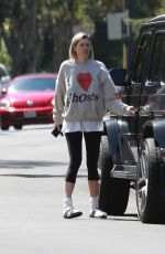 JESSICA HART Out and About in Los Angeles 09/19/2021