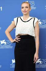 JODIE COMER at The Last Duel Photocall at 2021 Venice Film Festival 09/10/2021