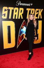 JOLENE BLALOCK at 2nd Annual Star Trek Day Celebration at Skirball Cultural Center 09/08/2021