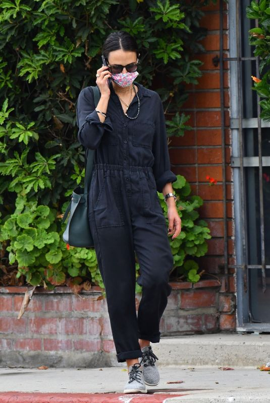 JORDANA BREWSTER OIut and About in Brentwood 09/27/2021