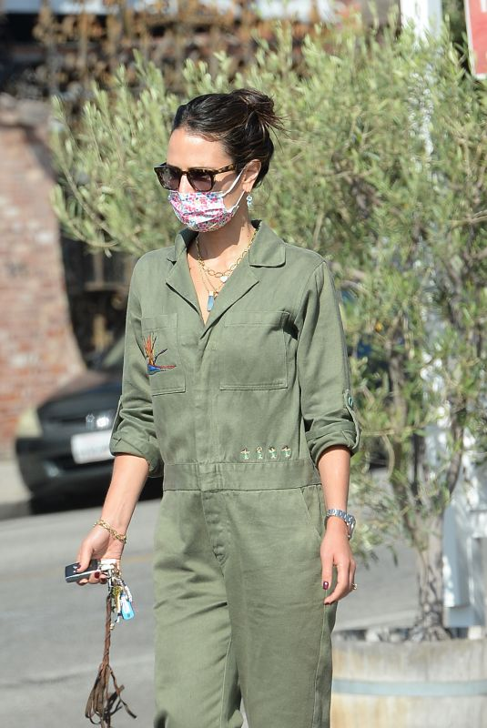 JORDANA BREWSTER Out and About in Los Angeles 09/19/2021