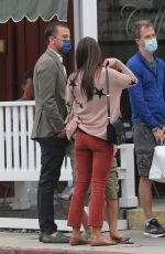 JORDANA BREWSTER Out for Breakfast in Brentwood 09/16/2021