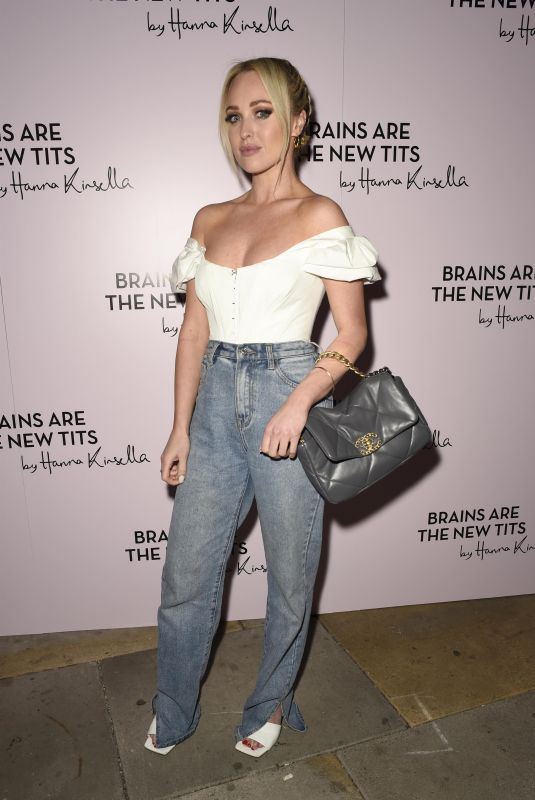 JORGIE PORTER at Brains Are the New Tits by Hanna Kinsella Event 09/29/2021