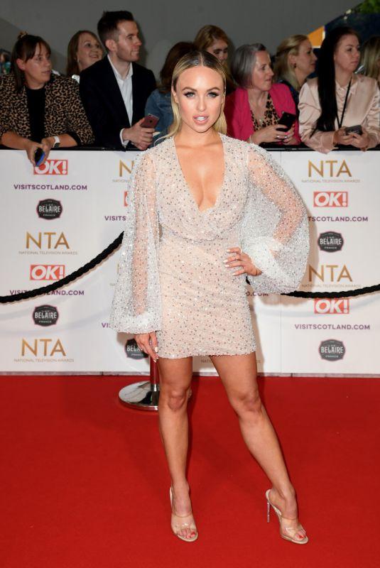 JORGIE PORTER at National Television Awards 2021 at O2 Arena in London 09/09/2021