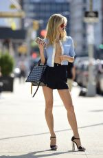 JOY CORRIGAN at a Photoshoot Out in New York 09/15/2021