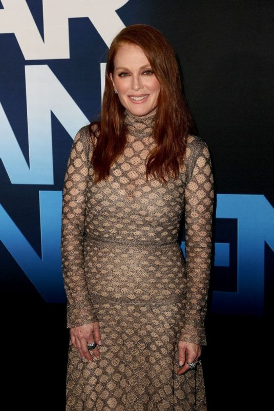 JULIANNE MOORE at Dear Evan Hansen Premiere in Los Angeles 09/22/2021