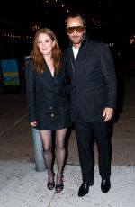 JULIANNE MOORE at Tom Ford Fashion Show in New York 09/12/2021