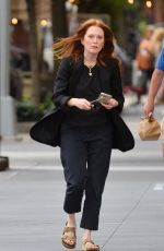JULIANNE MOORE Out and About in New York 09/20/2021