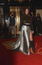 KACEY MUSGRAVES Heading to Met Gala 2021 in New York 09/13/2021